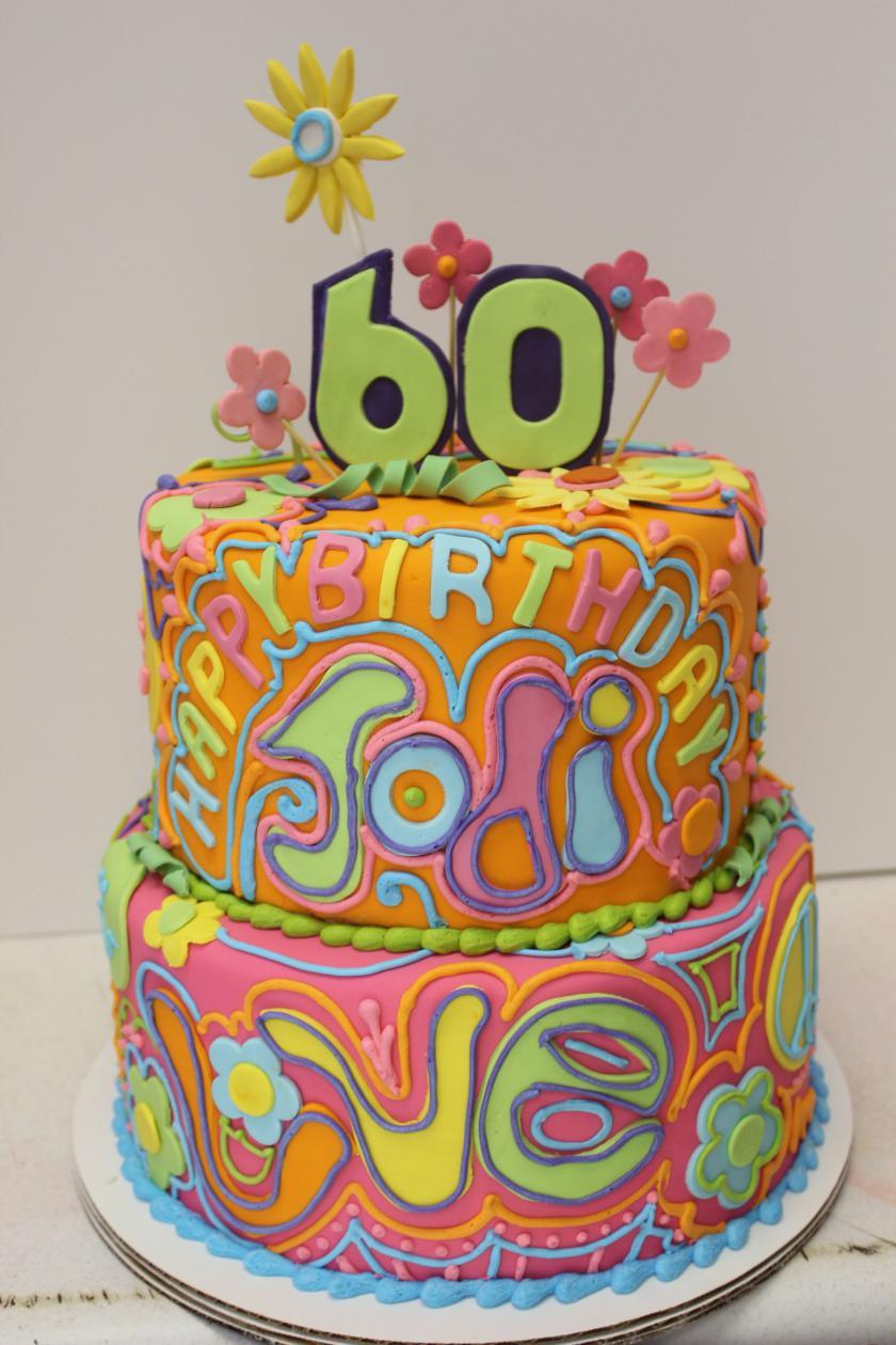 9 70 S Themed Cakes Photo 70s Birthday Cake Ideas 70s Theme