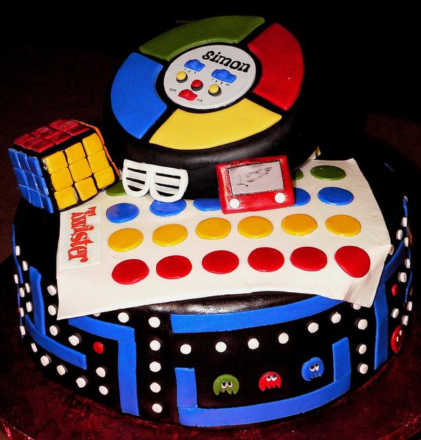 Cool 10 80S Theme Party Cakes Photo 80S Theme Birthday Cake Ideas Birthday Cards Printable Riciscafe Filternl