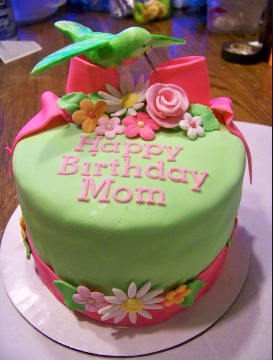 Birthday Cake Happy Mom