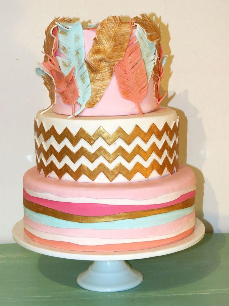 7 Boho Easy Healthy Birthday Cakes Photo Bohemian Birthday Cakes