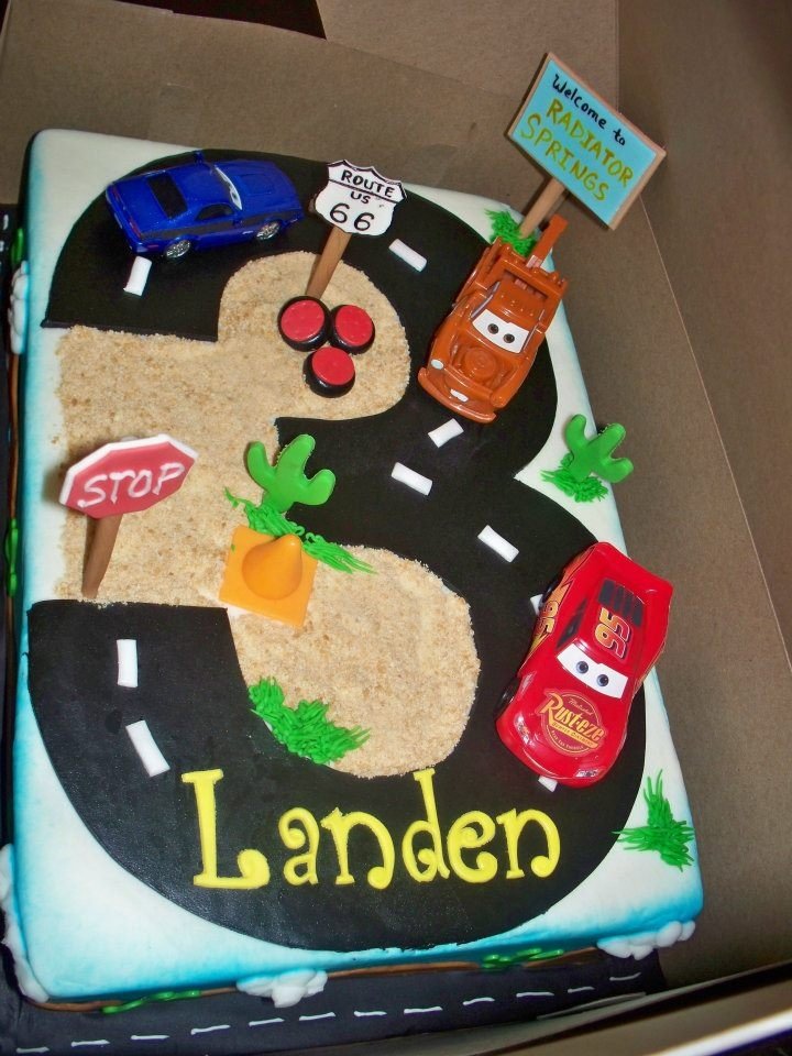 Boys 3rd Birthday Cake Ideas