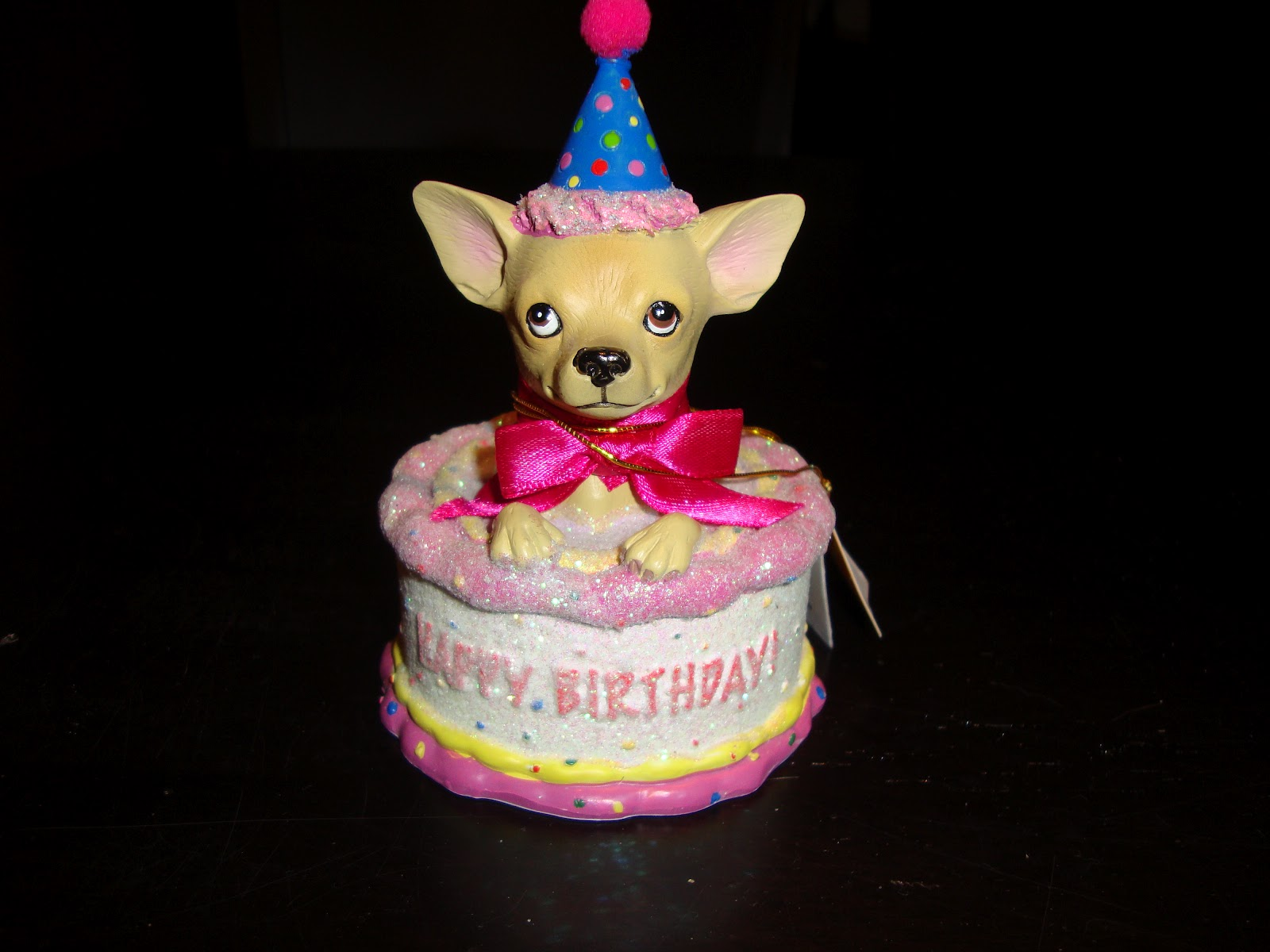 Fabulous 9 Chihuahua Birthday Cakes With Letter B On It Photo Chihuahua Funny Birthday Cards Online Unhofree Goldxyz