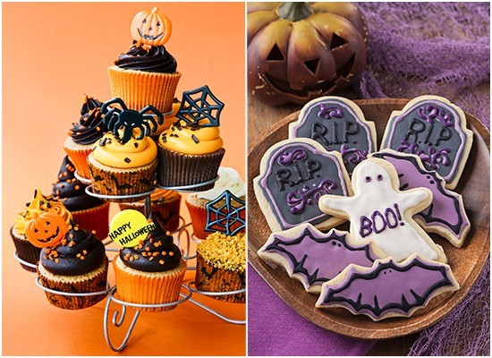 Halloween Themed Baby Shower Cookies.8 Halloween Themed Baby Shower Cupcakes Photo Halloween Baby
