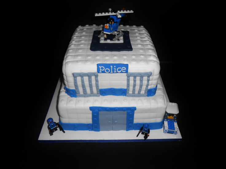 7 Lego Police Themed Birthday Cakes Photo Lego Police Birthday
