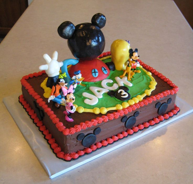 11 Mickey Mouse Cakes For Boys Photo Mickey Mouse Diaper Cake Boy