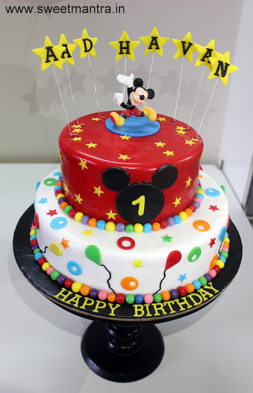 Mickey Mouse Birthday Cakes For Boys