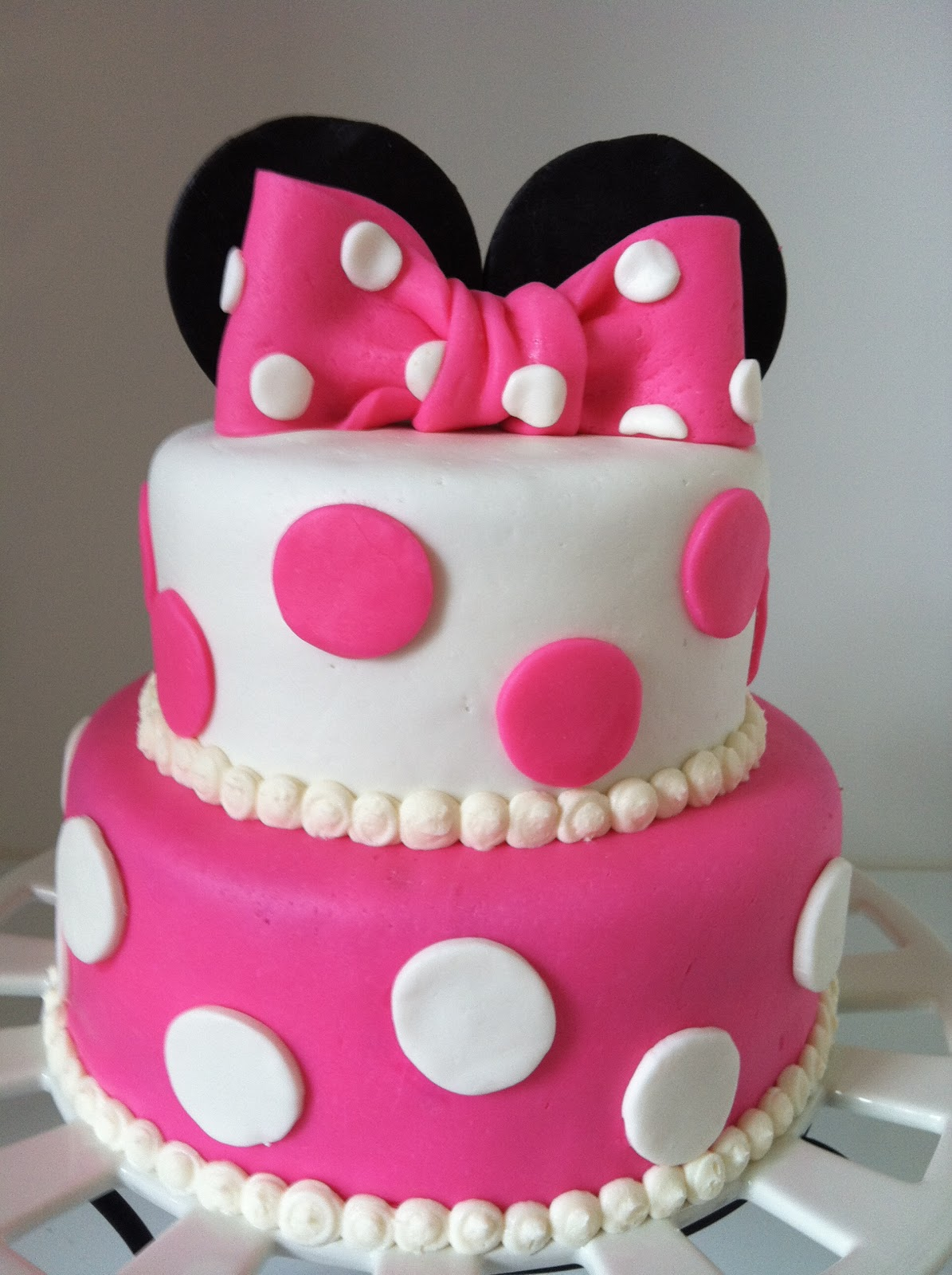 Minnie Mouse Birthday Cakes For Girls