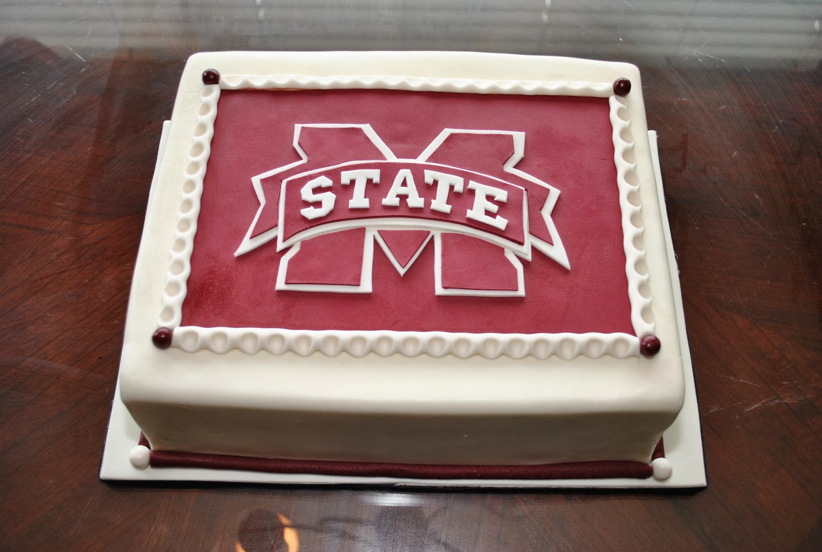 7 Mississippi State University Birthday Cakes Photo - Mississippi ...
