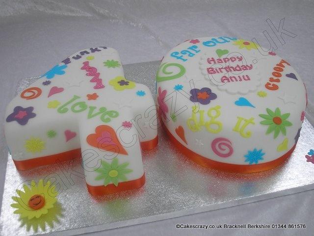 6 Funky Celebration Cakes Photo Wedding Birthday Cake Funky 13th