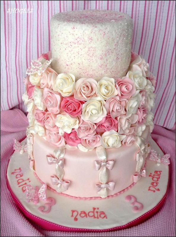 9 Cute Cakes For Girls Photo Birthday Cake Princess