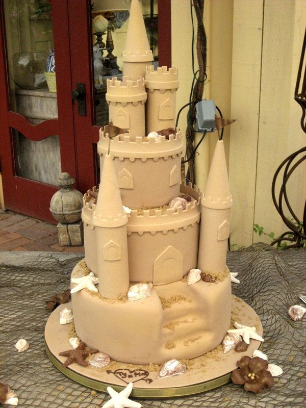 8 Sandcastle Myrtle Beach Wedding Cakes Photo - Sand Castle Wedding ...