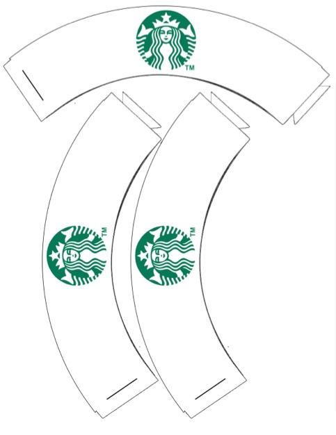 This is an image of Starbucks Logo Printable inside starbucks coffee
