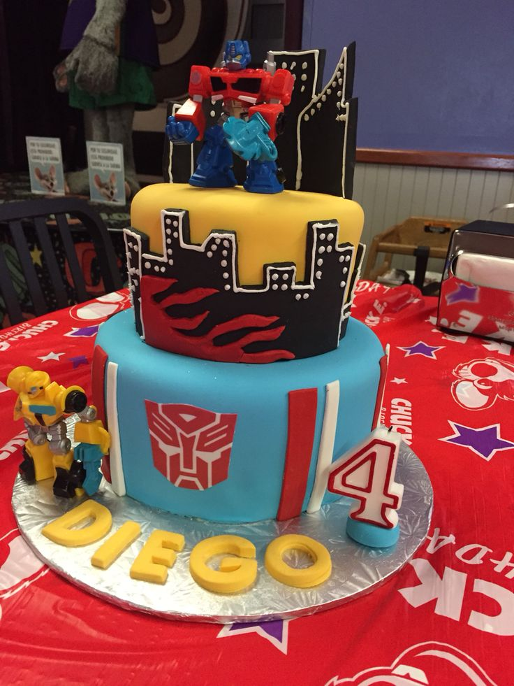 Marvelous 11 Transformer Rescue Bots Cakes Pinterest Photo Transformers Funny Birthday Cards Online Alyptdamsfinfo