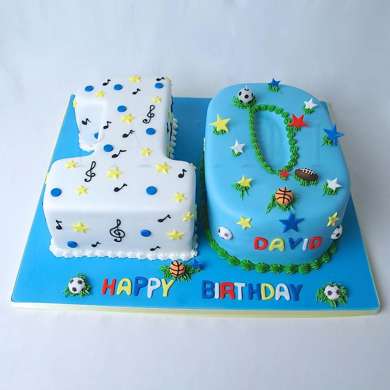 11 10th Birthday Cakes For Boys Photo Girls 10th Birthday Cake
