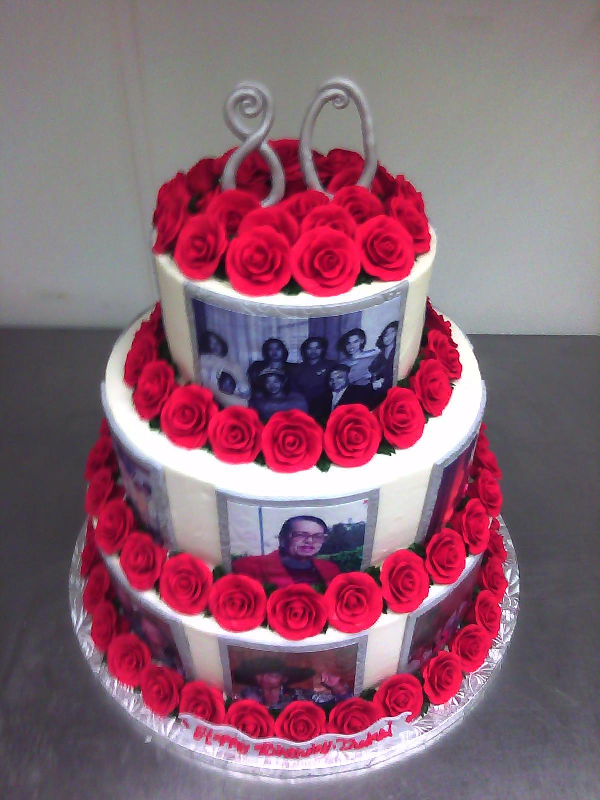 11 Birthday Cakes For 80th Birthday Photo 80th Birthday Cake Ideas