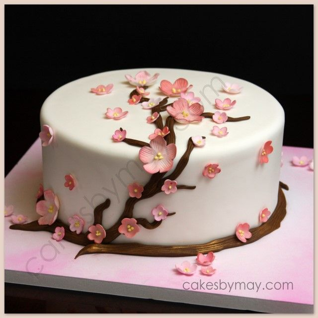 Beautiful Elegant Birthday Cakes