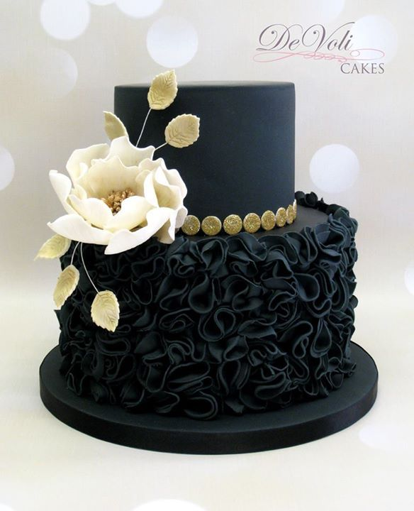 Pleasing 9 Black And White Cakes For Women Photo Black And White Birthday Funny Birthday Cards Online Fluifree Goldxyz