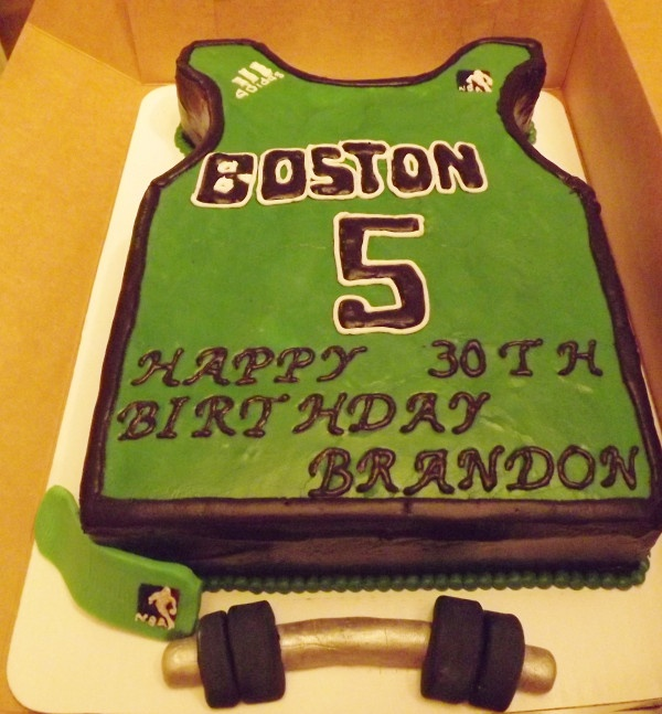 13 Celtics Theme Birthday Cakes Photo