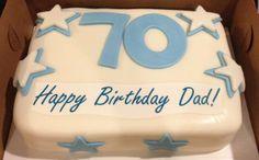 Enjoyable 9 70Th Birthday Cakes For Dad Photo Happy Birthday Cake 70Th Dad Funny Birthday Cards Online Kookostrdamsfinfo