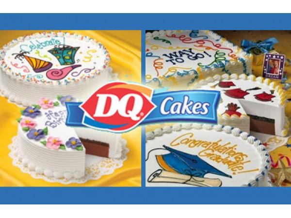 10 Dq Ice Cream Graduation Cakes Photo Dairy Queen Ice Cream Cake