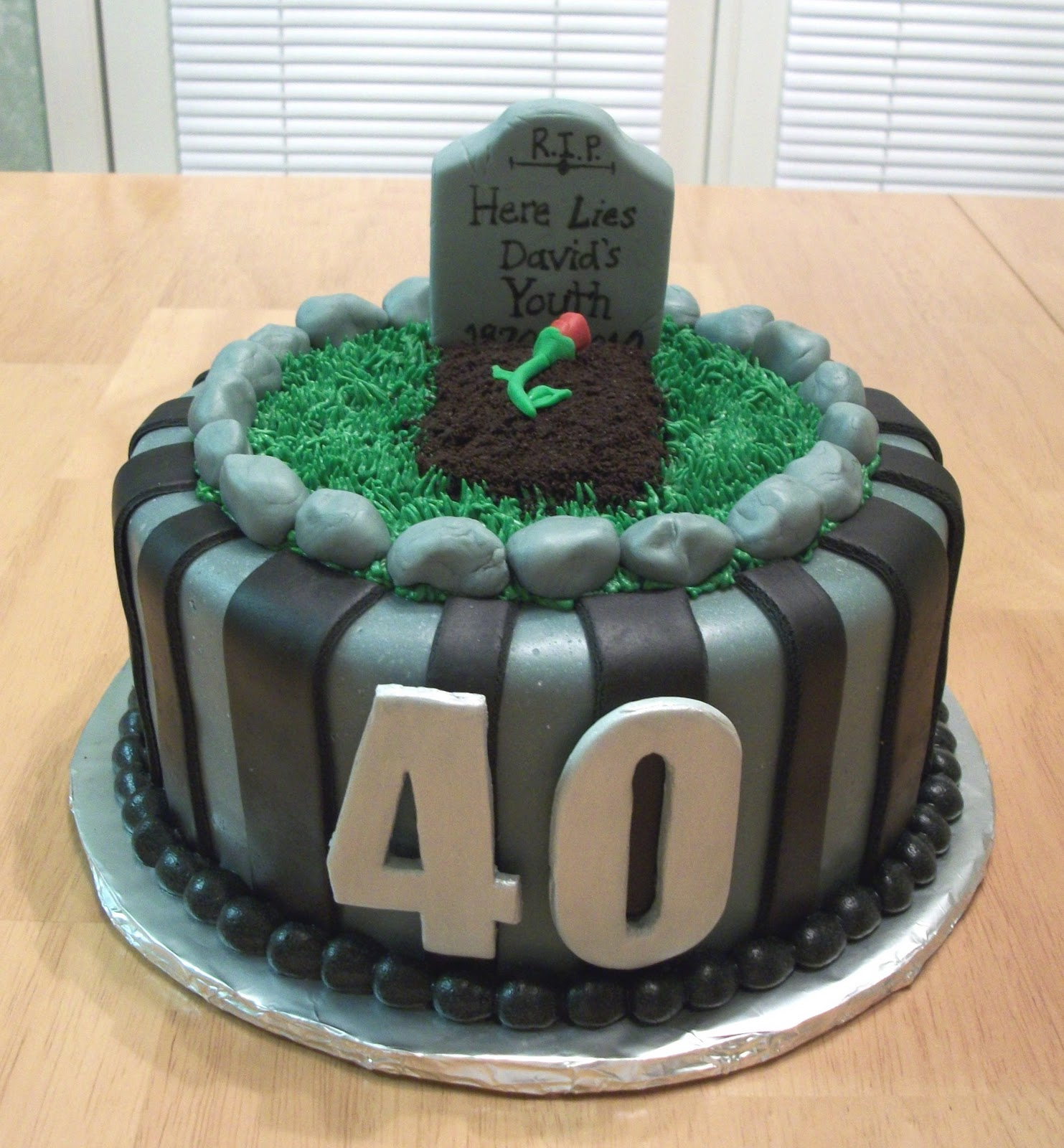 Amazing 8 Fun 40Th Birthday Cakes Photo Funny 40Th Birthday Cakes 40Th Personalised Birthday Cards Cominlily Jamesorg
