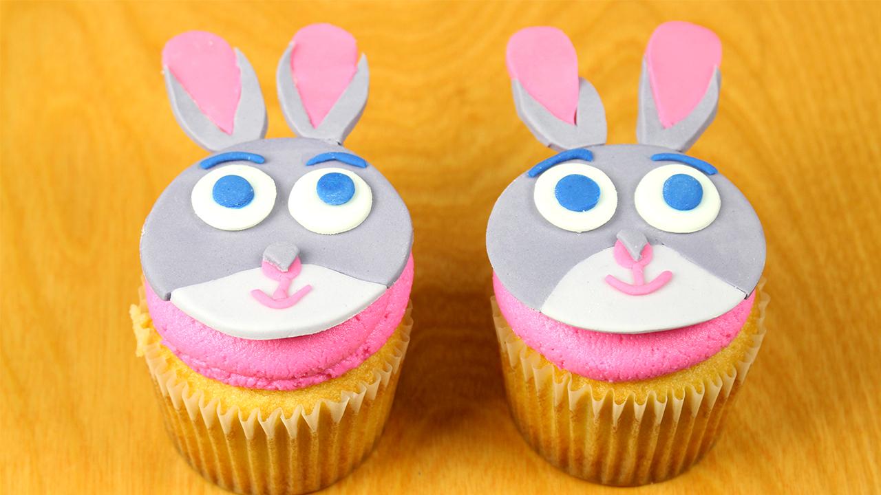 Judy Hopps Zootopia Cupcakes