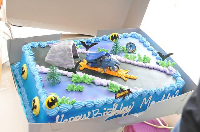 Kroger Batman Birthday Cake