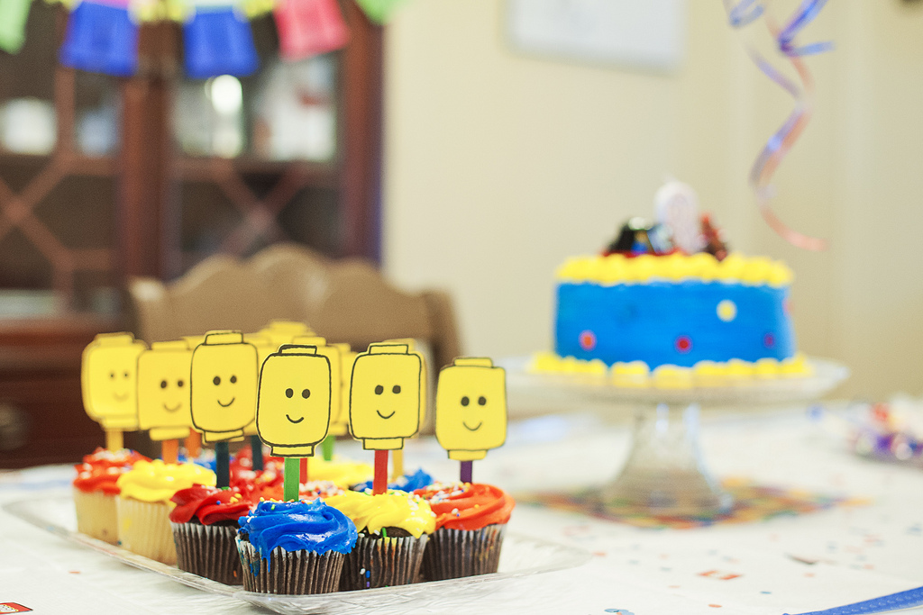 Kroger Birthday Cakes LEGO