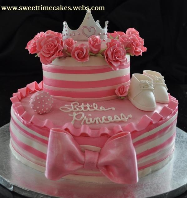 Little Princess Baby Shower Cake