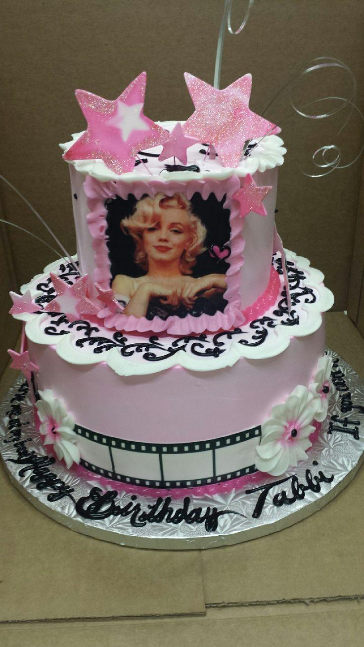 Sensational 13 Movie Star Girl Birthday Cakes Photo Movie Themed Birthday Personalised Birthday Cards Paralily Jamesorg