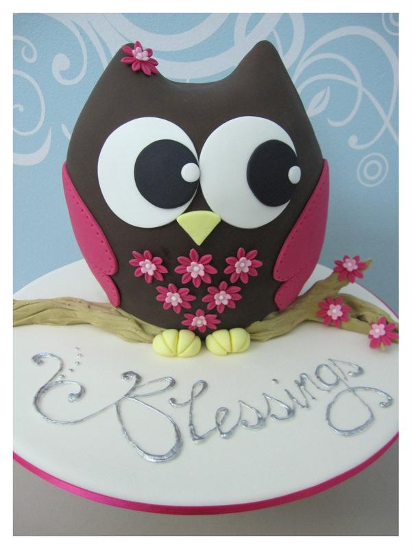 10 Decorating Ideas Owl Cupcakes Magenta Photo Owl Birthday Cake