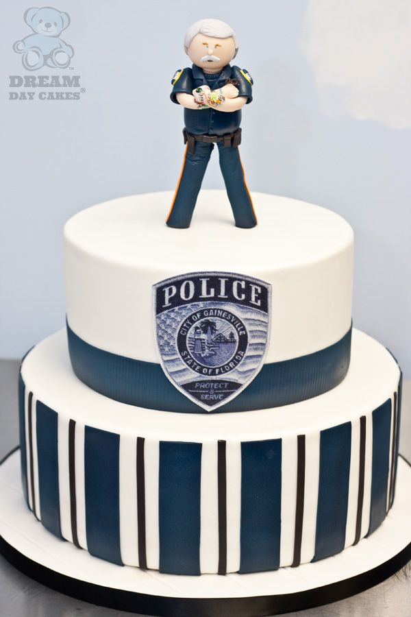 Amazing 12 Police Department Cakes Photo Police Car Cake Police Funny Birthday Cards Online Alyptdamsfinfo