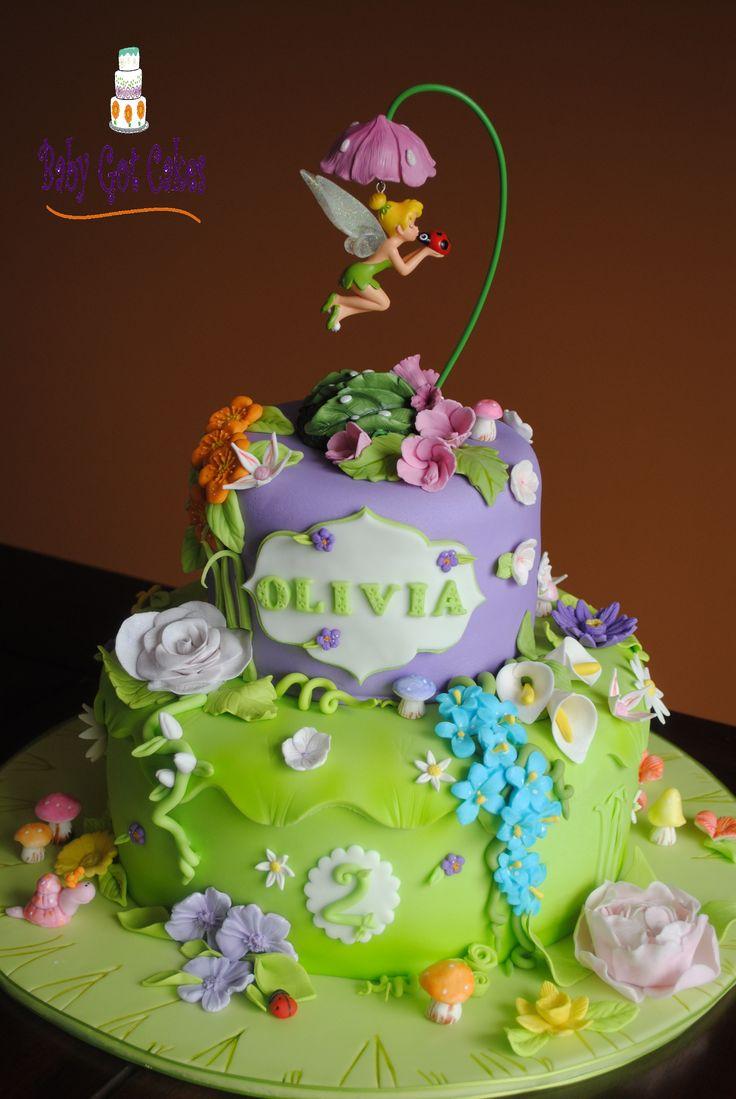 9 Disney Fairy Cakes Cincinnati Ohio Photo Disney Fairies Birthday