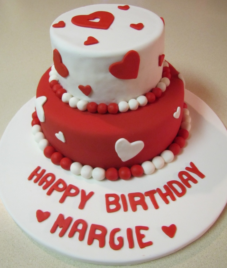12 Valentines Themed Cakes Photo Valentine Cake Valentines