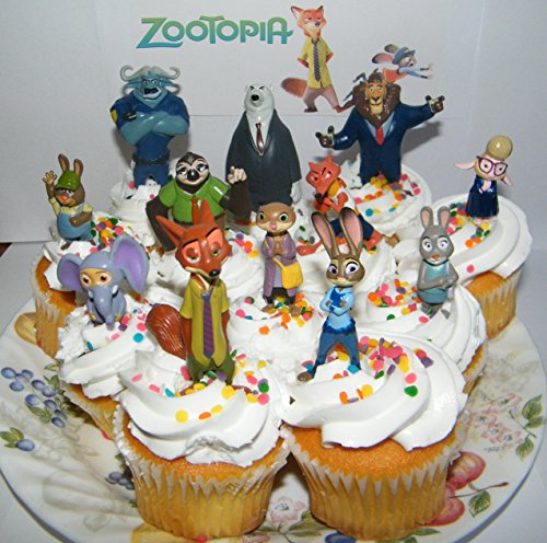 Zootopia Cake Toppers Figures