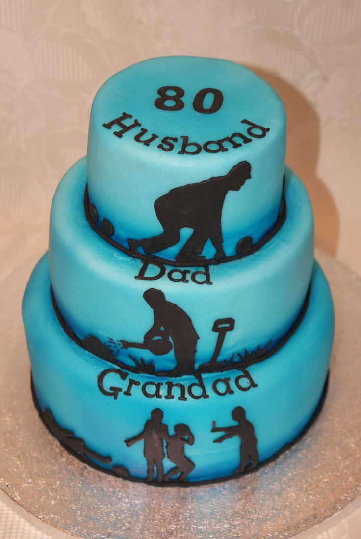 80th Birthday Cake Ideas For Dad