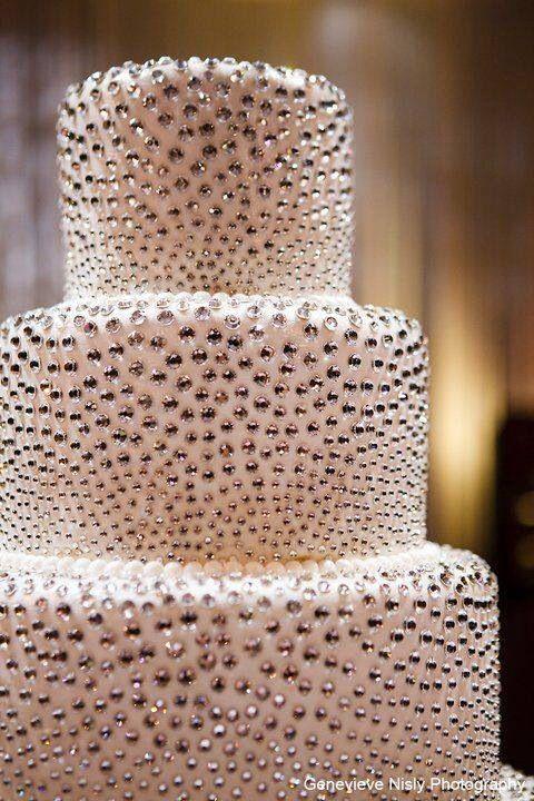 12 Sparkly Birthday Cakes Photo Glitter Wedding Cake Gold Glitter