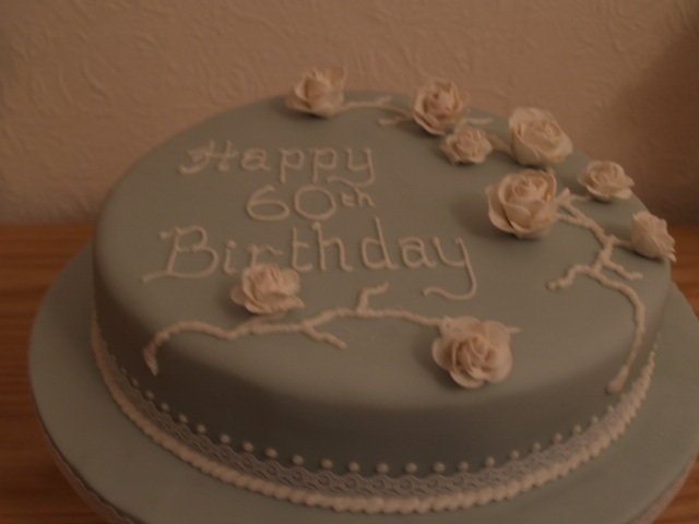 Elegant 60th Birthday Cakes