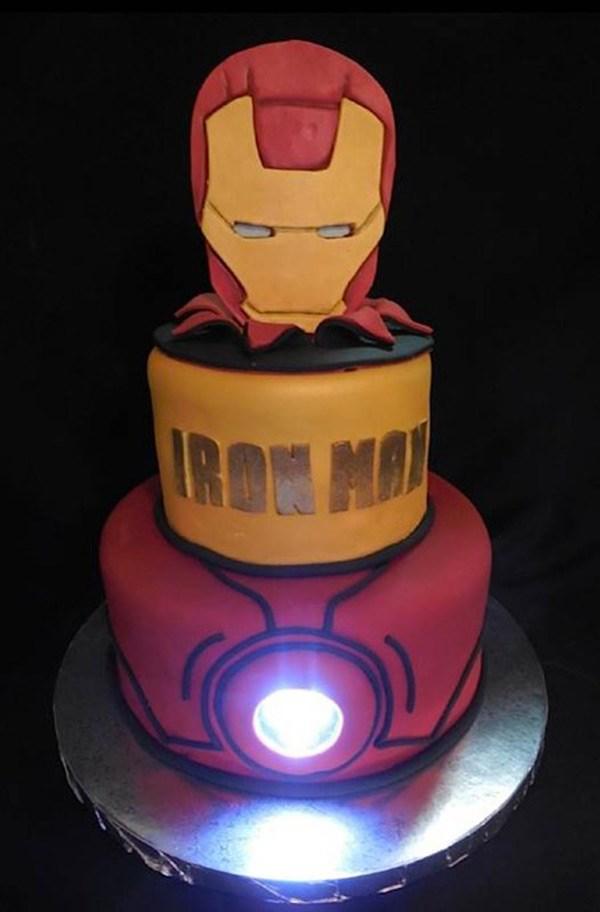 Pleasant 8 Iron Man 2 Birthday Cakes Photo Iron Man Birthday Party Iron Personalised Birthday Cards Paralily Jamesorg