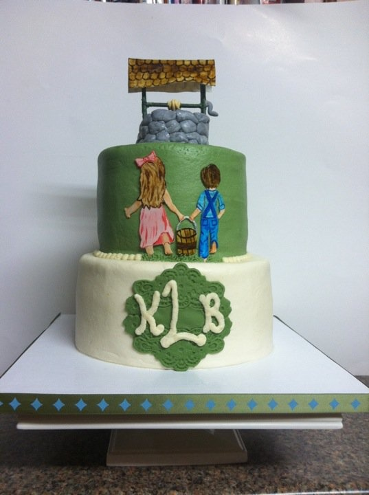 7 Jack And Jill Wedding Shower Ideas Cakes Photo Jack And Jill