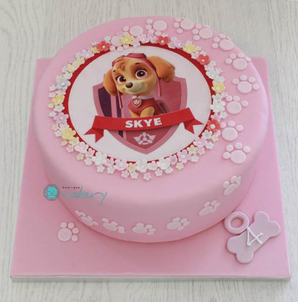 11 Girl PAW Patrol Skye Cakes Photo - PAW Patrol Birthday Cake Girl ...