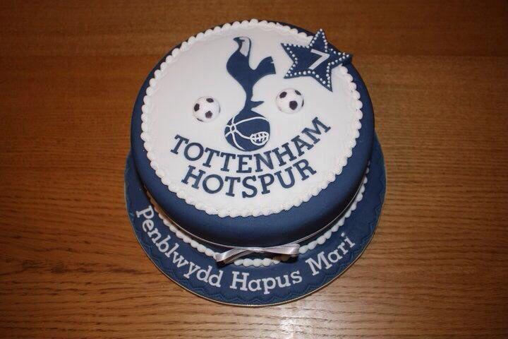 10 Tottenham Hotspur Cakes Photo Tottenham Hotspur Birthday Cake
