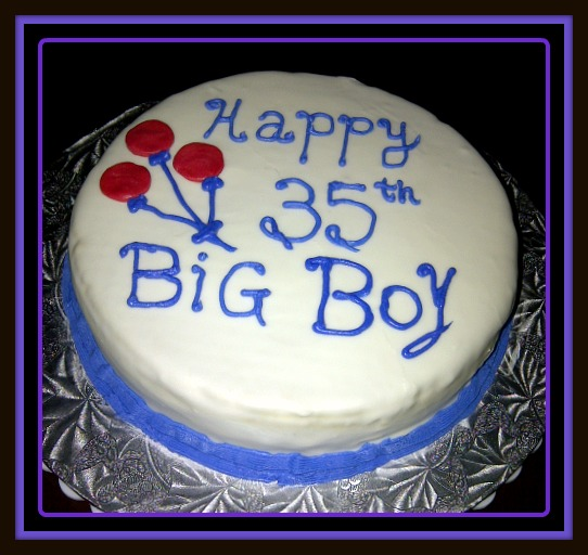 Terrific 10 35 Birthday Cakes For Guys Photo 35Th Birthday Cake 35Th Personalised Birthday Cards Sponlily Jamesorg