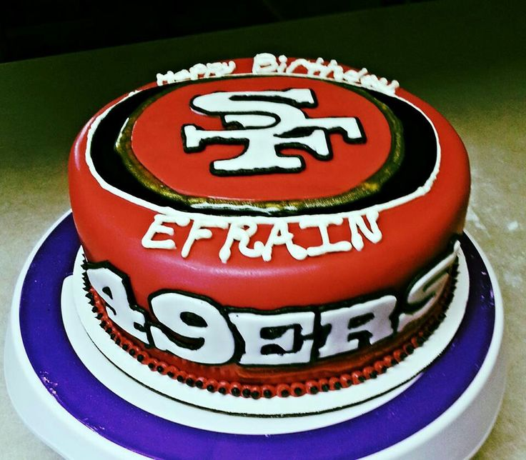 13 49ers Birthday Cakes For Men Photo