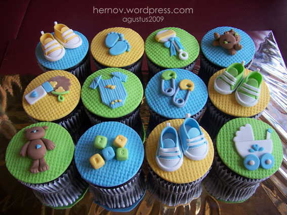 6 Google Images Baby Shower Cupcakes Photo Baby Boy Shower Cupcake