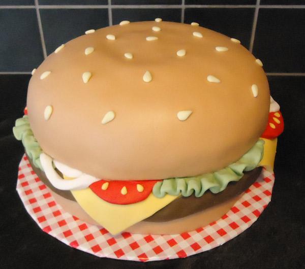 11 Cheeseburger Shaped Cakes Photo Burger Cake Cheeseburger Cake