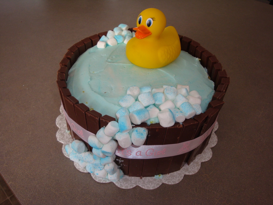 8 Easy To Make Baby Shower Cakes Photo Diy Baby Shower Cake