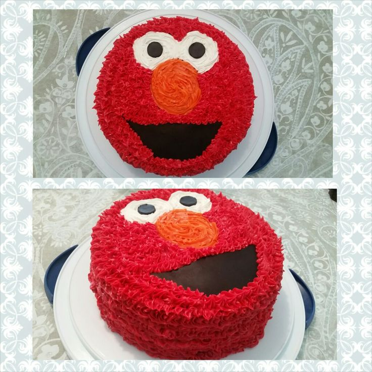 Awesome 9 Weston Elmo Birthday Cakes Photo Baby Elmo 1St Birthday Cake Funny Birthday Cards Online Elaedamsfinfo