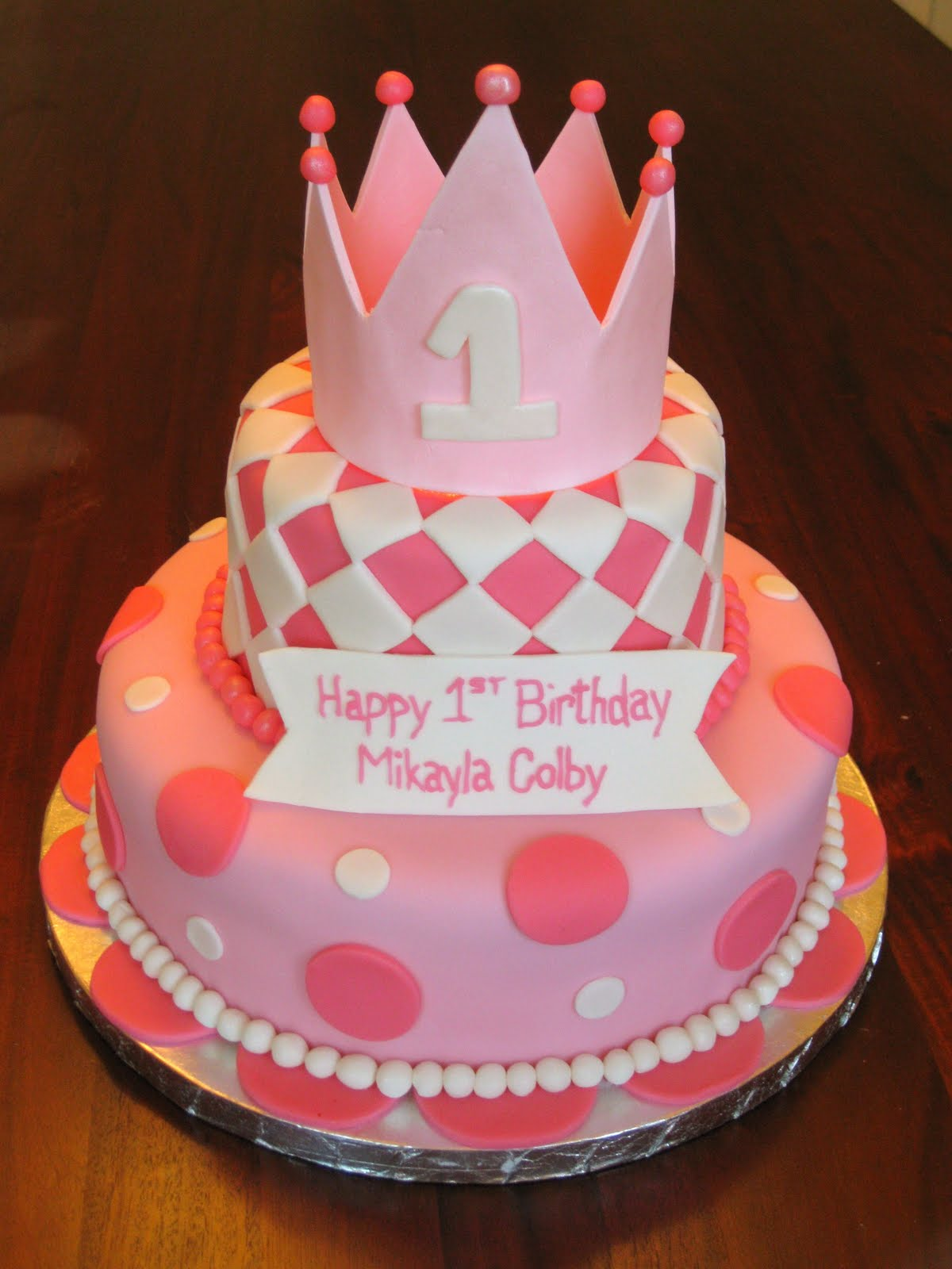 Simple Fondant Cake Designs For Girls