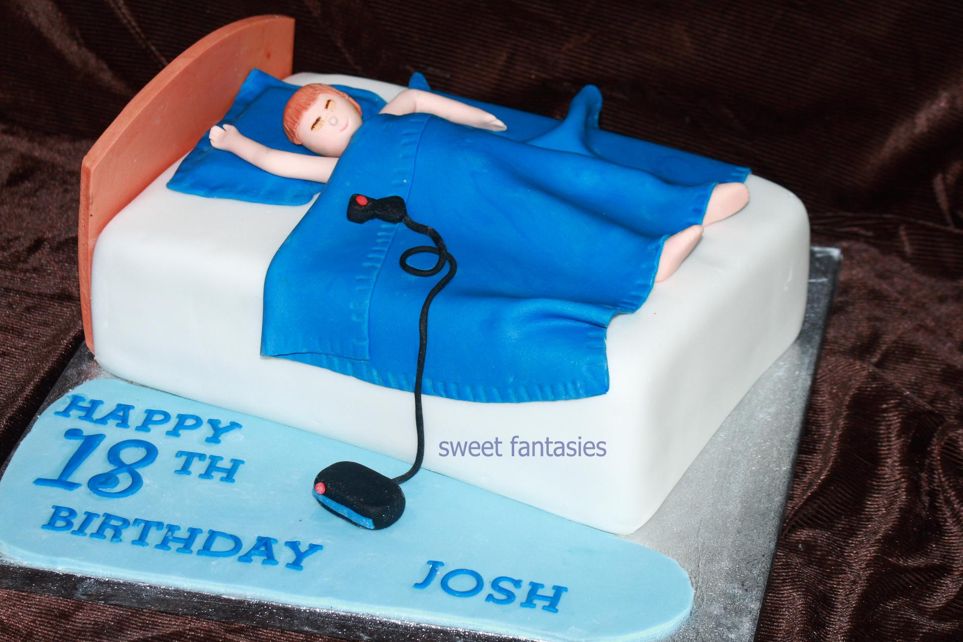 Funny Men Birthday Cake